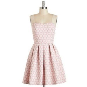 Modcloth My Favorite Macaroon Dress in Pink, Small